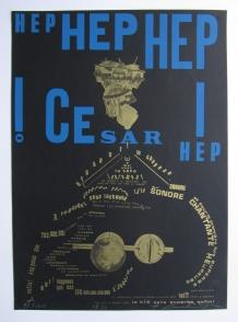 Henri chopin print Hep